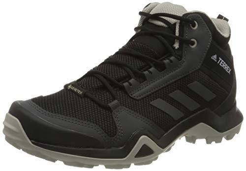 adidas Terrex Ax3 Mid GTX W, Chaussure de Piste d'athlétisme Femme, Noyau Noir/DGH Gris Solide/Teinte Violet, 38 2/3 EU