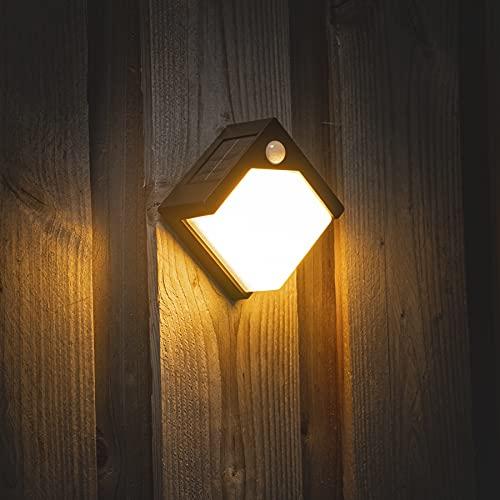 Proventa SensorLight LED Aplique exterior solar con sensor luz día /movimiento