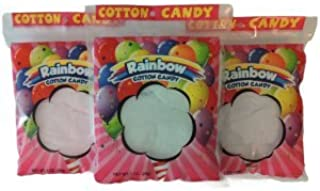 Cotton Candy, 1 oz bags - Rainbow Themed (48 COUNT)