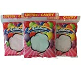 Cotton Candy, 1 oz bags - Rainbow Themed (96 Count)