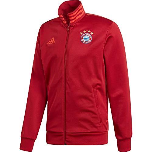 adidas Herren FCB 3S TRK Top Sweatshirt, rot, L