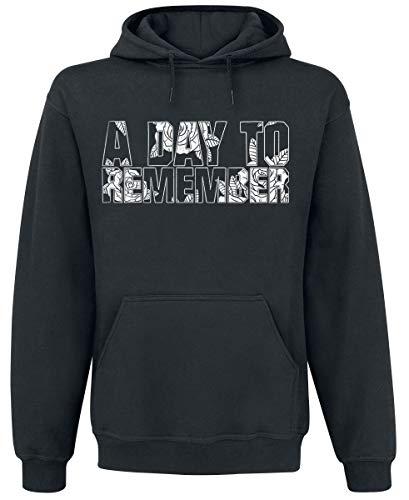 A Day To Remember ADTR Männer Kapuzenpullover schwarz M 80% Baumwolle, 20% Polyester Band-Merch, Bands