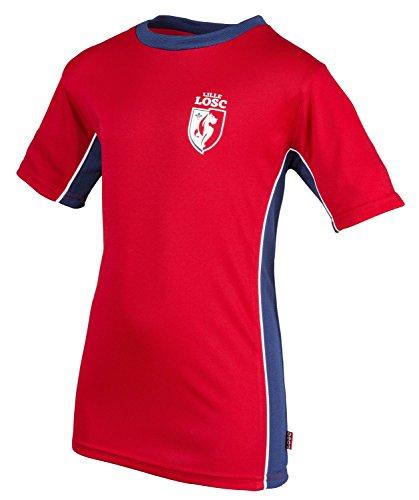 Lille OSC Herren Trikot LOSC, offizielle Kollektion, Erwachsenengröße M rot