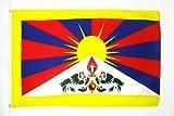 AZ FLAG Flagge Tibet 150x90cm - TIBETISCHE Fahne 90 x 150 cm - flaggen Top Qualität