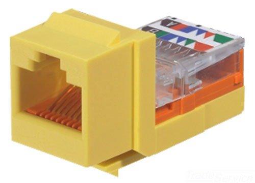 Panduit NK5E88MYLY Category-5E 8-Wire Lead-Frame Style Jack Module,...