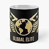 Desconocido Strike Offensive Go Counter CS Csgo Global Taza de café con Leche 11 oz