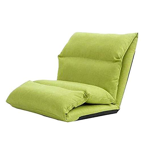 YLCJ Creative Tatami gewatteerde achterkant, bank, stoel, vensterbank, stoelkussen, opvouwbaar ontwerp, kan naar behoefte worden aangepast, meerkleurig (kleur: bruin)