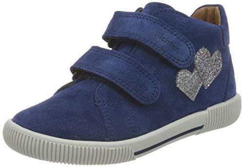 Richter Kinderschuhe Jungen Mädchen Vali 2551-8111 Sneaker, 6821nautical/silver/eggp, 23 EU