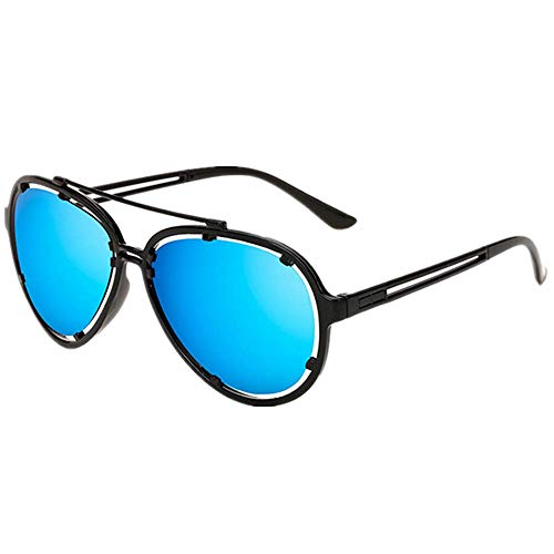 Battnot Sonnenbrille für Damen Herren, Pilotenbrille Unisex Vintage Mode Outdoor Anti-UV-Farbfilm Klassische Einfache Retro Trend Gläser Sonnenbrillen Männer Frauen Billig Sunglasses Women Eyewear
