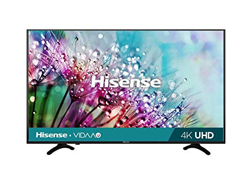 "Hisense 50H6F Pantalla Smart TV WiFi LED 50"", 3840 x 2160 Pixeles, Ultra HD, 4K, HDMI USB, Color Negro 2020"