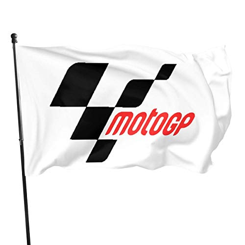 NOT BRAND Home Decoration Moto GP Garden Flag Indoor Outdoor Flag 3x5 FT