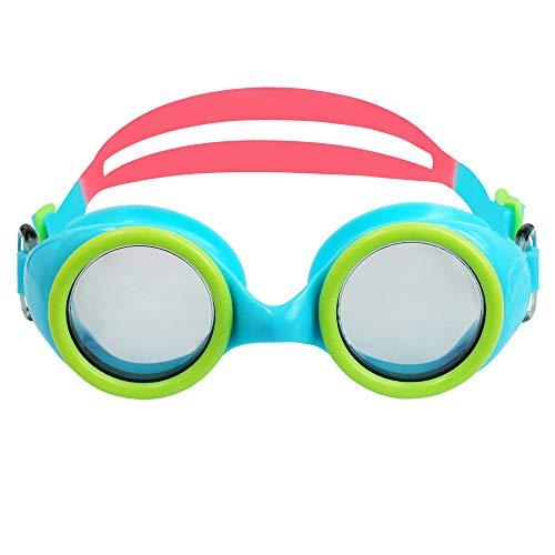 anruo Kinderen kinderen optische zwembril siliconen band anti-condens anti-ultraviolet jongen en meisje watersporten