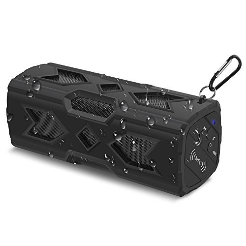 For Sale! SunJet Bluetooth Speakers 4.0, 3D Surround Sound Stereo Wireless Speakers with Bluetooth, ...