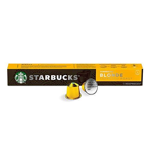 Capsulas Nespresso marca Starbucks by Nespresso