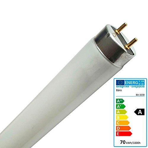 Bäro Lebensmittel-Leuchtstofflampe 58 Watt 3258 mit 26mm Speziell für Molkereiprodukte Obst Gemüse Milch