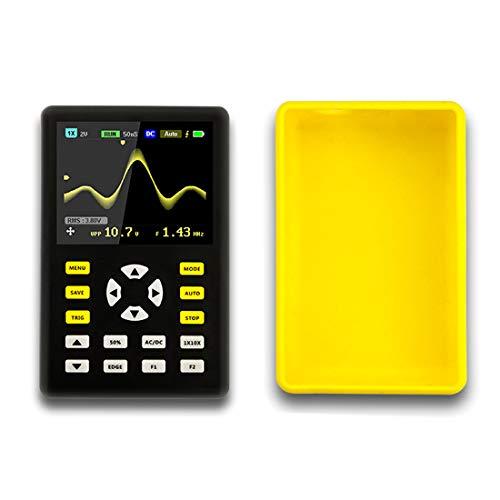 デジタルオシロスコープ、プロフェッショナルLCDディスプレイIPS滑り止めポータブルオシロスコープマルチメータ、2.4インチ100MHz帯域幅、500MS / sサンプリングレート