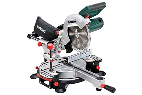 Metabo KGS 216 M 619260000 - Ingletadora con función de tracción para piezas anchas, Hoja de sierra 216 x 30 mm