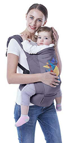 R for Rabbit Hug Me Elite- The Ergonomic Baby Carrier (Dark Grey)