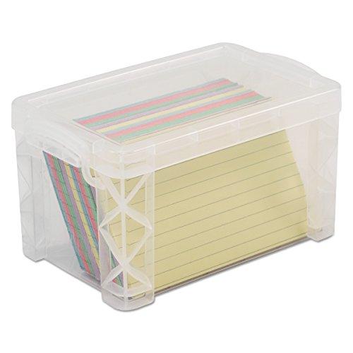 AVT40307 - Advantus Super Stacker Index Cards Box