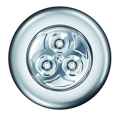 LEDVANCE LED Batteriebetriebene Leuchte, Leuchte für Innenanwendungen, Silber, DOT-it