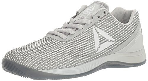 Reebok Women's CROSSFIT Nano 7.0 Cross-Trainer Shoe, White/Skull Grey/Black, 10 M US