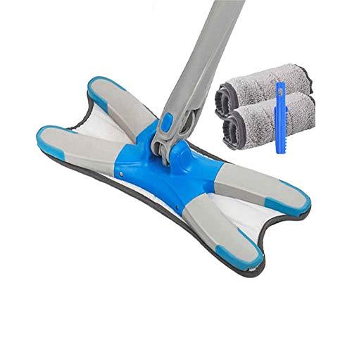 ACRD Fregar, Reutilizable Paño De Limpieza Hogar Suelo Ventana Multifunción Durable Fregonas De Rotación (Color : #2)
