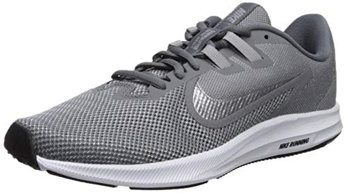 Nike Damen Downshifter 9 Laufschuhe, Grau (Cool Grey/Metallic Silver-Wolf Grey 004), 42 EU