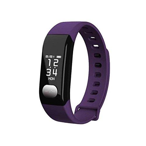 Cardiofrequenzimetro da Polso Braccialetto Fitness Bracciale Monitoraggio di frequenza cardiaca / GPS / Step Counter / Sleep Monitor per iphone/samsung/HTC/HUAWEI/il Sistema IOS/Android,Braccialetto