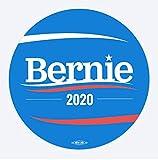 Pack of 20 3'x3' Circular Bernie Sanders 2020 Stickers (20)