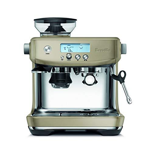 Breville BES878 Barista Pro Espresso Machine, Champagne エスプレッソマシーン [並行輸入品]