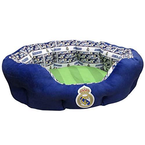Real Madrid BE-01S-RM Cama para Animales de Compañía, Talla S
