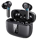 Heymell TWS Cuffie Bluetooth,Auricolari Bluetooth Senza Fili,Cuffie Wireless Sport.Waterproof IPX7,Controllo Tattile, Cuffie Bluetooth Con Micropono,Bassi Profondi suono stereo chiaro.