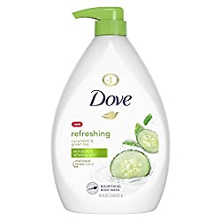 Dove go fresh Body Wash Pump, Cucumber and Green Tea