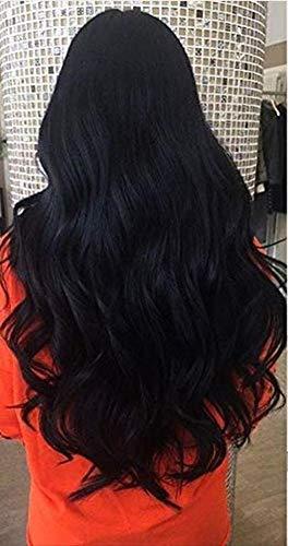 Moresoo Micro Bead Human Hair Extensions in Jet Black