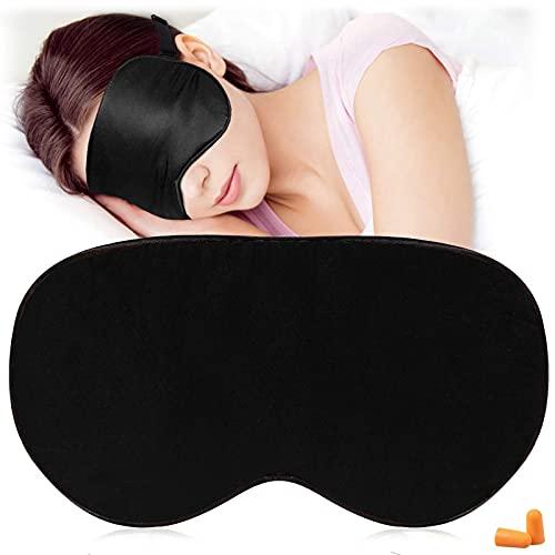 AJUN Máscara de dormir natural 100%...