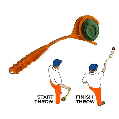 WEIFAN Hand Clay Target Thrower Clay Launchers Skeet-Falle Outdoor-Shooting Jagd Sport FüR Outdoor Range Shooting Und Jagd