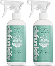 Defunkify Odor Remover Spray, Peppermint - Crushes Odor - with Ionic Silver & Pure Essential Oil Scent - 32 floz (2-Pack of 16 floz bottles) (Peppermint)
