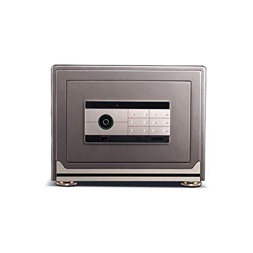 XHMCDZ Caja Fuerte Digital for la seguridad del bloqueo de seguridad de clave y contraseña de huellas digitales oficina en casa segura la contraseña de seguridad electrónica pequeña 3c autenticación d