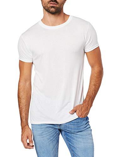 Kit 2 Camisetas Underwear, Hanes, Masculino, Branco, G
