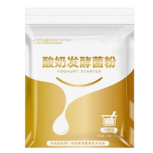 planuuik Yogurt Fatto in casa Lievito di Birra Probiotici Naturali Lactobacillus Fermentazione in Polvere Maker Cucina casalinga