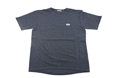 アブガルシア(Abu Garcia) スコーロン(防虫素材) ドライ半袖Tシャツ ネイビー Lサイズ ネイビー L