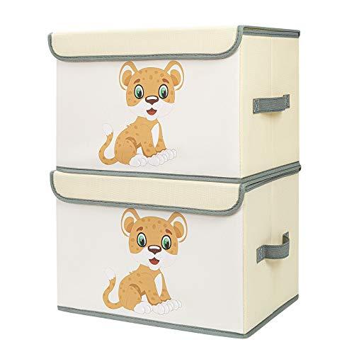 DIMJ DIMJ 2 Stück Kinder Aufbewahrungsboxen Bild
