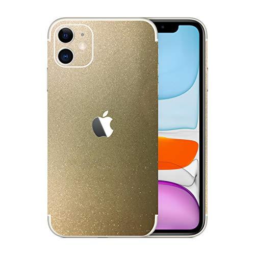 stika.co Adesivo in Vinile Glitterato per Apple iPhone 11, Dimensione Schermo da 6,1'