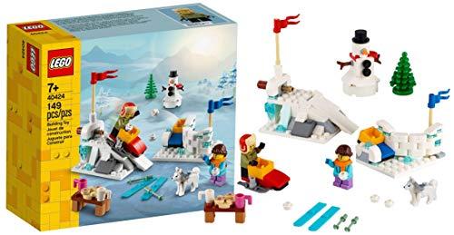 LEGO Winter Snowball Building Set