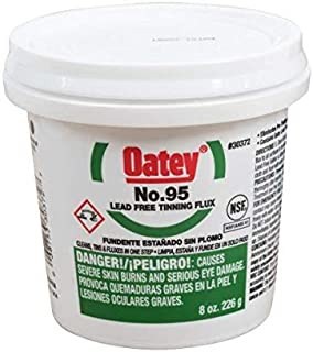 Oatey 30372, 95 8oz. Tinning Flux, Lead Free, Pack of 48 pcs