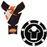 Spidy Moto 3D Motorcycle Waterproof Tank Pad 31 or Fuel Pad 05 Protector Decal Sticker for KTM Bikes