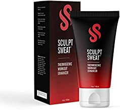 Perfect Sculpt Sweat Cream - Workout Enhancer Sweet Fat Burning Cream - Body Slimming Stomach & Belly Gel Targets Problem Areas for Increased Sweat & Circulation