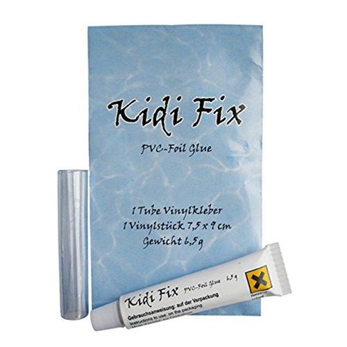 Stricker Chemie Wasserbetten Vinylkleber mit Vinylstück 7,5x9 cm Kidi Fix