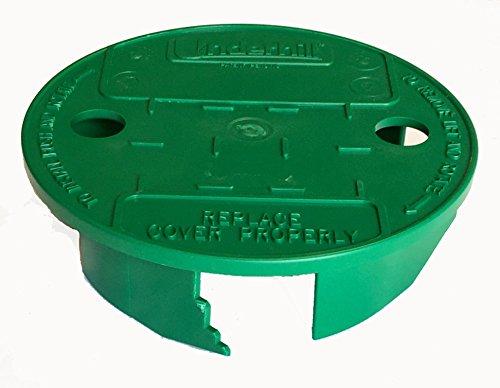 "Underhill VL-6 VersaLid 6"" to 7"" Universal Sprinkler Valve Box Lid - Green"