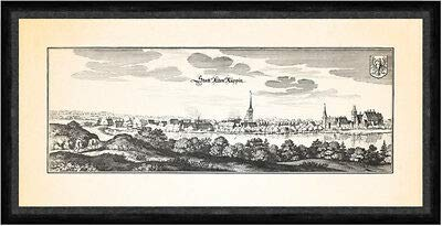 Kunstdruck Stadt Alten Ruppin Alt Ruppin Ruppiner See Rhin Faks_Merian 0595